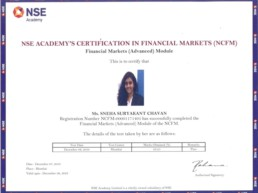 Executive MBA in Financial Market – Certificate