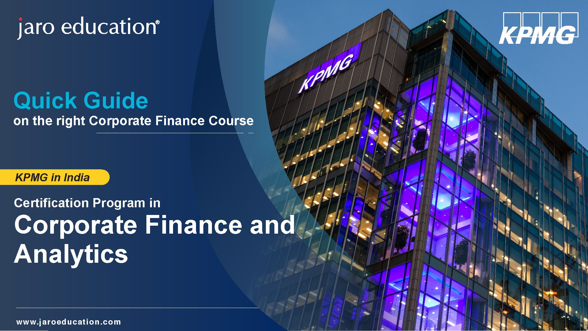 A guide on Corporate Finance certificate course