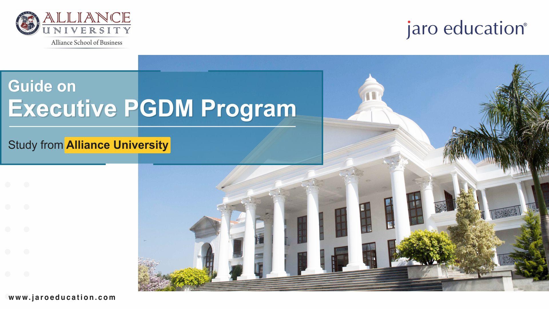 Guide on Executive PGDM program