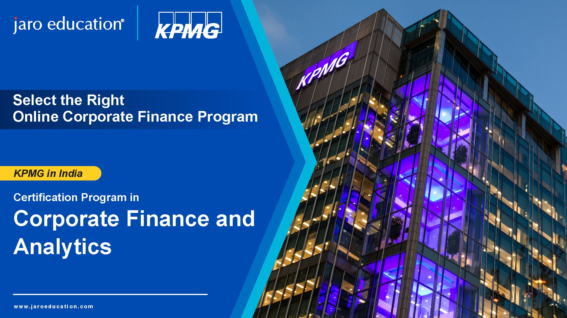 Select the right Coporate Finance course