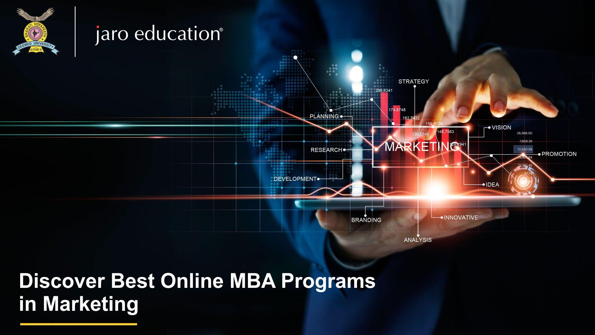 Best online MBA in Marketing