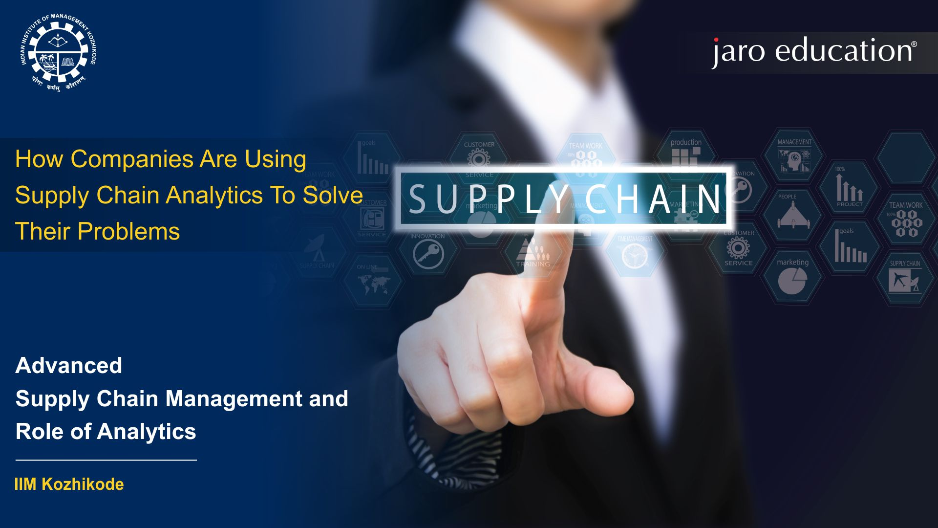 Supply Chain Analytics To Solve Their Problems