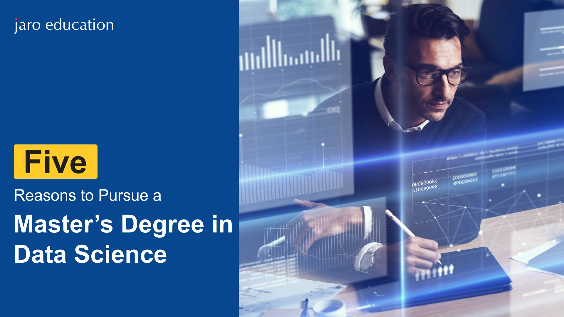 Five reasons to pursue a Master's degree in Data Science
