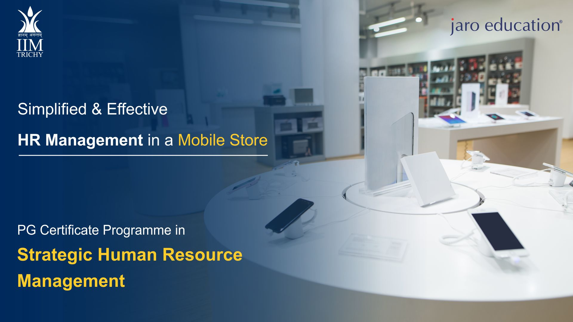 case study on effective HR management in a mobile store